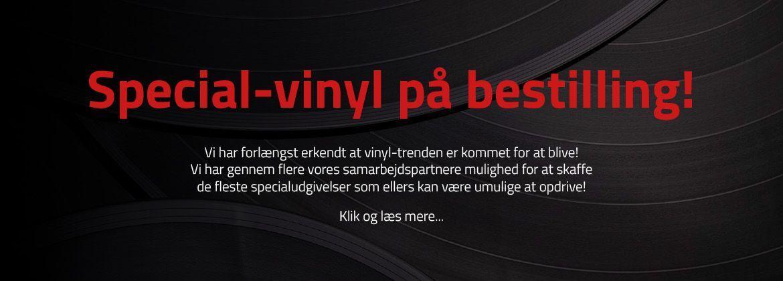 Vinyl på bestilling